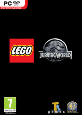 LEGO Jurassic World_PC_COVER (Custom)