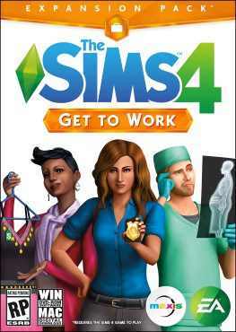 The Sims 4 Get To Work Download / Telecharger