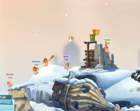 Worms W.M.D download free pc game