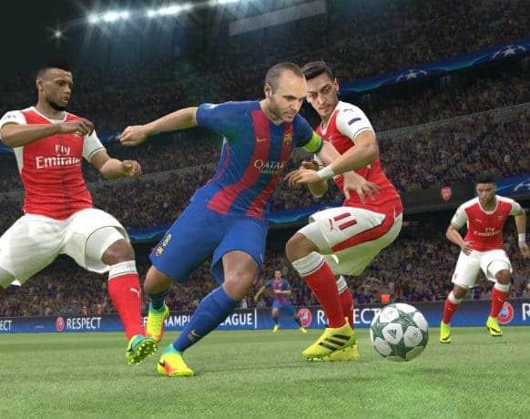Pro Evolution Soccer 2017 pc game download