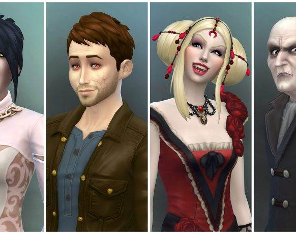 The Sims 4 Vampires download game