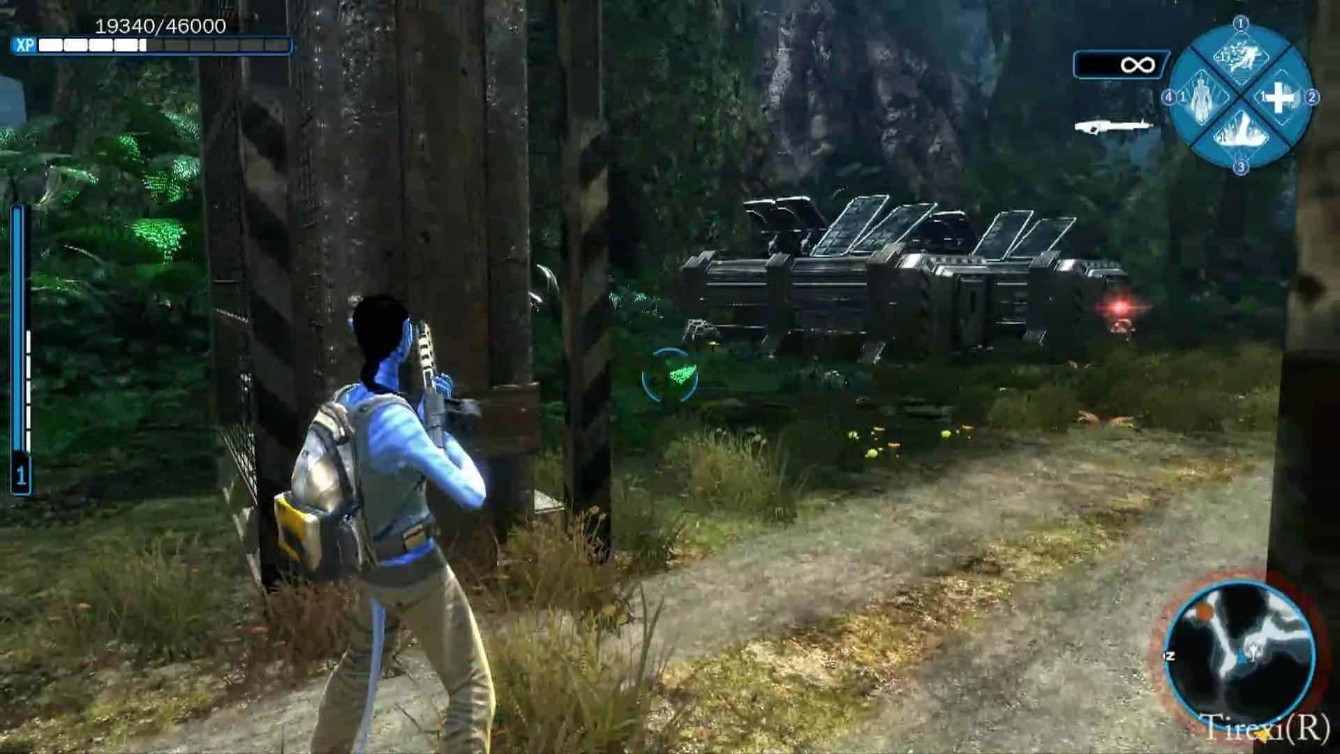 Скачять активированый avatar the game