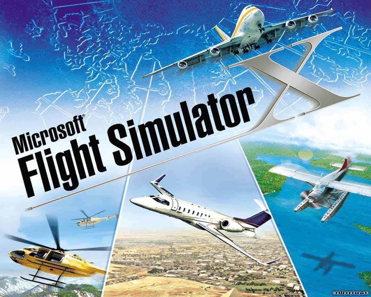 Microsoft Flight Simulator X PC Game Download