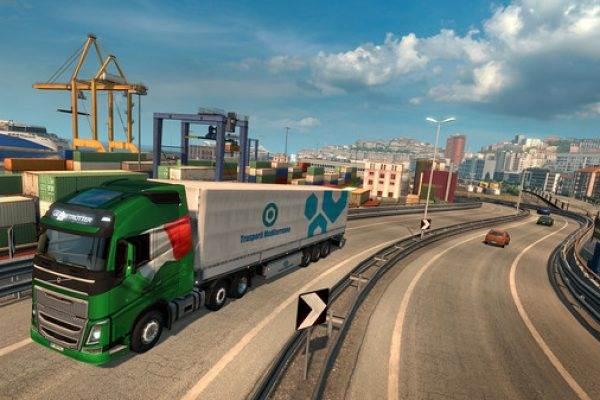 Euro Truck Simulator 2 Italia free pc.600×338