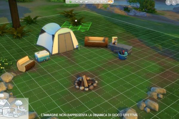 The Sims 4 Outdoor Retreat PC game