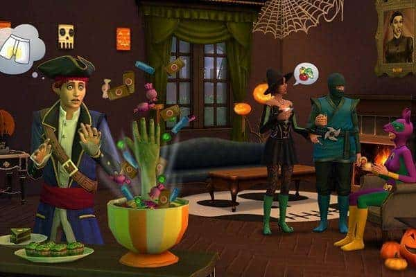 The Sims 4 Spooky Stuff Download Game