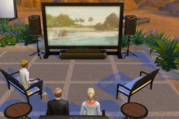 The Sims 4 Movie Hangout Stuff Game Download
