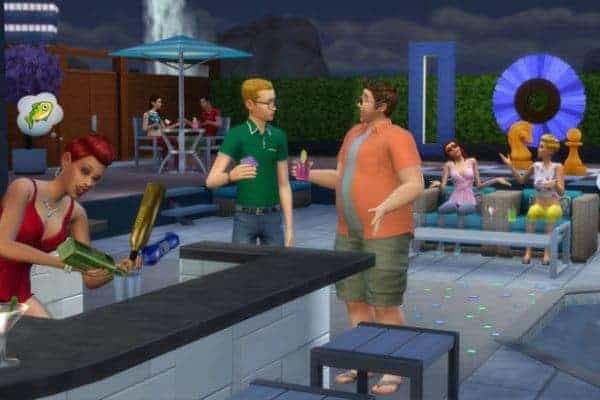 The Sims 4 Perfect Patio Stuff Download Game