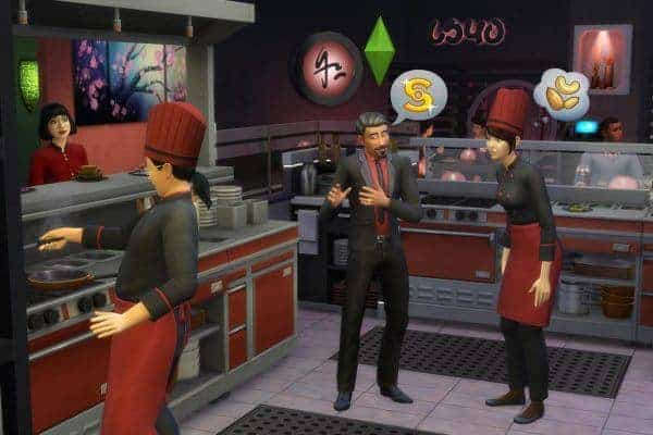 The Sims 4 Dine Out Download Game