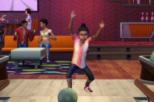 The Sims 4 Bowling Night Stuff Download PC Game