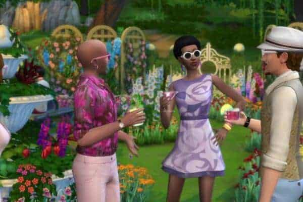 The Sims 4 Romantic Garden Stuff Free Game download
