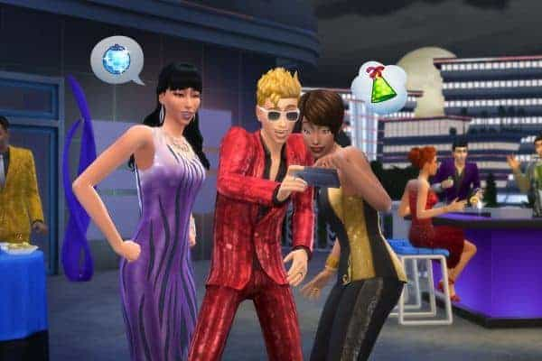 The Sims 4 Luxury Party Stuff Game