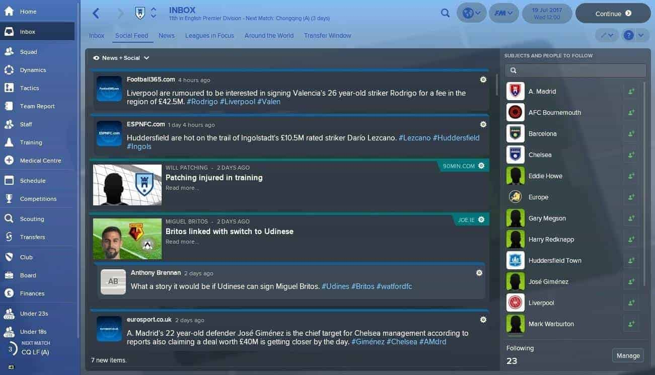 football manager download free full game