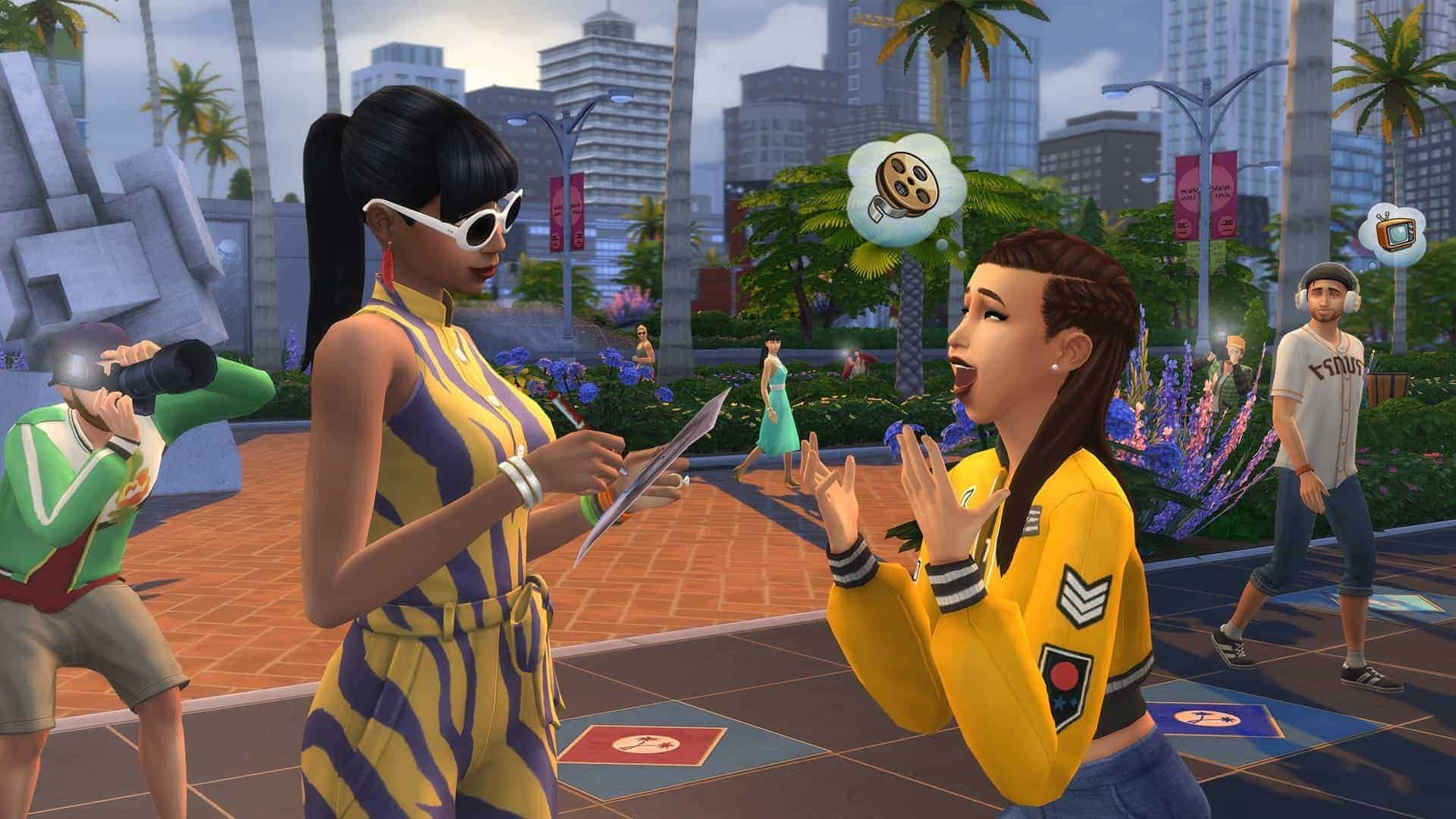 The Sims 4 Get Famous PC game download