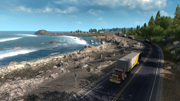 American Truck Simulator Oregon Game download